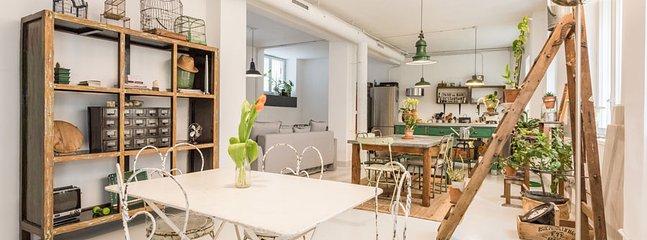Dining Room / Kitchen - LOFT DENEUVE - Madrid - rentals