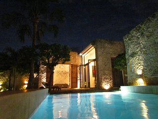 Casablanca living, 3 BR modern, colonial house - Merida vacation rentals