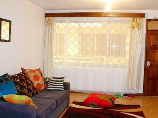 Spacious, homey two bedroom apartment - Nairobi vacation rentals