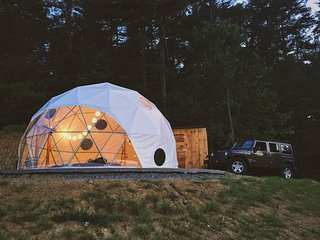Magical Dome with Incredible Mountain views - Asheville vacation rentals