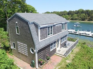 Breathtaking riverfront dog-friendly home w/ a lovely deck, close to the beach! - Chatham vacation rentals