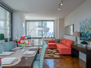 !!Modern, Luxury Apt with Skyline Views!!-14QA - Jersey City vacation rentals