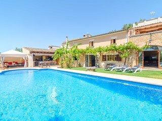 ES PORRASSAR - Property for 11 people in Cas Concos - Cas Concos vacation rentals