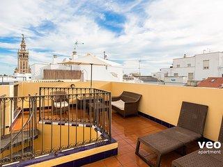 Pajaritos 2 Terrace. Duplex with views of Giralda - Seville vacation rentals