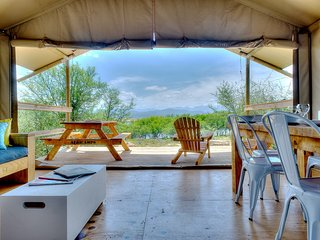 Perfect 2 bedroom Swellendam Tented camp with A/C - Swellendam vacation rentals