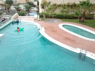 Lovely & Confortable Pool View Flat - Palm-Mar vacation rentals