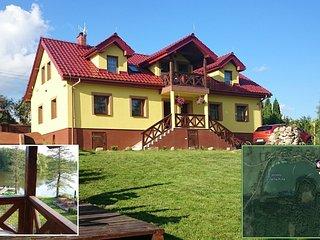 Mazurski Raj - Luksury Turism: house 220m2 20perso - Pozezdrze vacation rentals