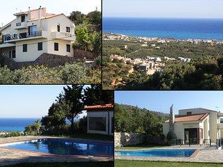 Crete-seaside Milatos-Villa Iliothea up 15 people - Milatos vacation rentals