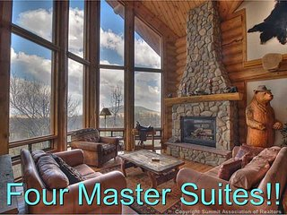 4 Master Bedrooms! Mountain Views! Private Fishing - Fairplay vacation rentals