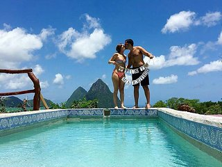 Perfect 1 bedroom Soufriere Cottage with Deck - Soufriere vacation rentals