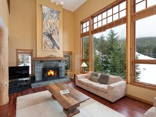 Luxury Slope Side Chalet Ski in/Out Sleeps 15 - Whistler vacation rentals