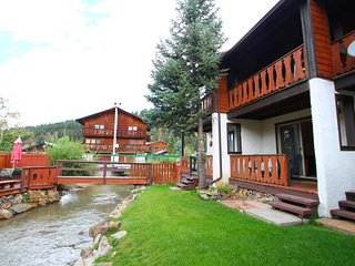 Telemark Townhouse #4 - On the River, In Town, King Bed, WiFi, Satellite TV - Red River vacation rentals