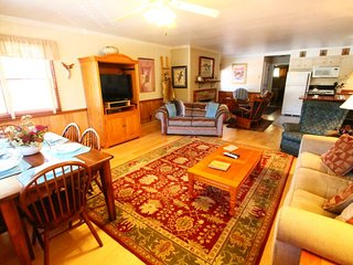 Ski View Condo #15 - Ski Views!, In Town, Private Balcony, King Bed, WiFi, Game Room, Laundry - Red River vacation rentals