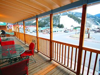The Loft above the Chocolate Factory - On Main Street, Near Ski Lifts, Private Balcony, Washer/Dryer - Red River vacation rentals