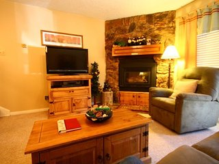 Valley Condos #111 - WiFi, Washer/Dryer, Community Hot Tubs, Playground, Creek - Red River vacation rentals
