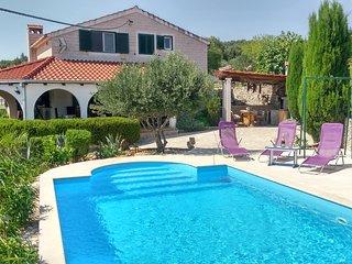 Charming Villa Nika with the pool - Skrip vacation rentals