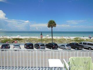 Beachside Views Studio Condo Wifi Sleeps 2 - Saint Pete Beach vacation rentals
