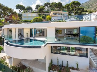 Villa Eze Big Blue Luxury villa on the French Riviera, Riviera villa for rent with pool, Eze luxury villa for self catering - Eze vacation rentals