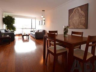NERINA - 2 Bed Renovated Apartment with great city views - La Cabrera - Bogota vacation rentals