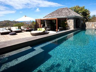 Luxury 6 bedroom St. Barts villa. Breatktaking views of the ocean and just minutes from the beach! - Lurin vacation rentals