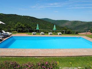 Villa il Corso, 40 minutes from Arezzo - Monte Santa Maria Tiberina vacation rentals