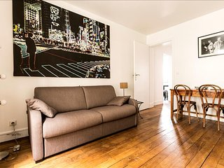 Beautiful apartment steps from Canal St. Martin - Paris vacation rentals