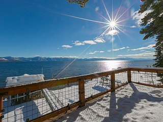 Boater's Paradise -  6 BR Lakefront w/ Buoy, Pier, Hot Tub, & Boathouse!! - Carnelian Bay vacation rentals