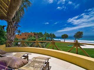Luxury Beachfront Estate with Private Beach in Los Ranchos - Punta de Mita vacation rentals