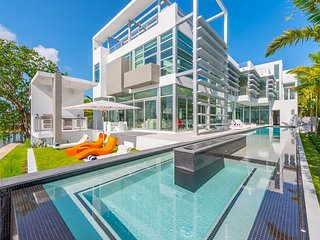 Miami Modern Oceanfront Glass House on Hibiscus Island - Miami Beach vacation rentals