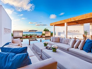 Contemporary Oceanfront Luxury Villa on Meads Bay Beach - Meads Bay vacation rentals