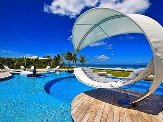Breathtaking Beachfront Modern Masterpiece Villa in St Martin - Plum Bay vacation rentals