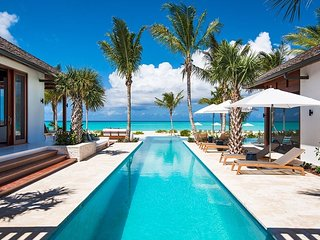 Modern Designer Turks and Caicos Luxury Beachfront Villa with Pool - Grace Bay vacation rentals
