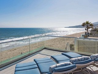 Malibu Colony Beachfront Luxury Villa with Roof Deck On The Sand - Malibu vacation rentals