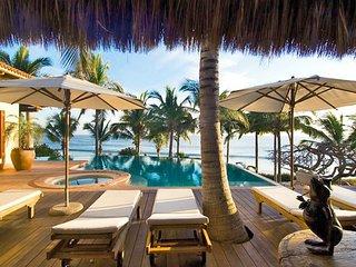 Tropical Beachfront Luxury Wellness Villa in Punta Mita - Punta de Mita vacation rentals