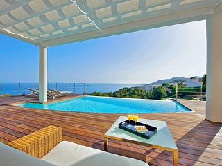 Villa La Diosa Ibiza Luxury  Ocean View Villa in Roca Llisa - Santa Eulalia del Rio vacation rentals