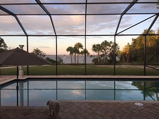Riverfront pool home; easy access to beaches. - Malabar vacation rentals
