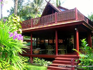 Holiday Villa Coconut Tropicana T5, Beachside at Bang Por Beach, Koh Samui - Koh Samui vacation rentals