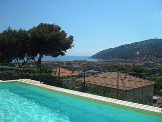 Luxury apartment in Villa with pool - Andora vacation rentals