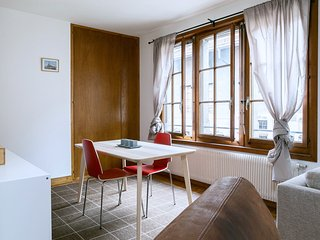 Cozy Studio with Central Heating and Television - Geneva vacation rentals