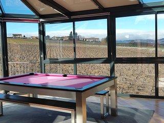 Beaujolais - Calme et vue pour maison de caractere - Blace vacation rentals