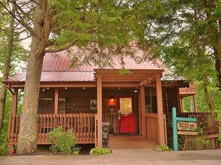 GREAT GATLINBURG LOCATION! Bear Feet is a beautiful log cabin with outstanding views! - Gatlinburg vacation rentals
