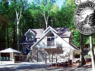 NEW! 'Lodge At Singing Waters' Elegant 4BR Forkston House w/ 6 Waterfalls! - Mehoopany vacation rentals