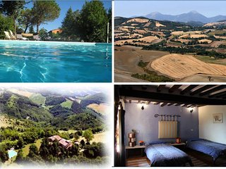 Ca Piero - a small village for maximum 20 people - Urbino vacation rentals