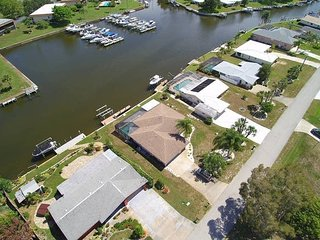 Waterfront Pool Home with Dock Close to the Beach - Englewood vacation rentals