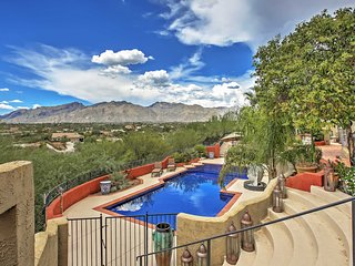 Peaceful Tucson Studio w/Wifi, Outdoor Fire Pit, Pool/Hot Tub Access & Dazzling Mountain Views - Wonderful Central Location Near Local Restaurants & The University of Arizona! - Tucson vacation rentals