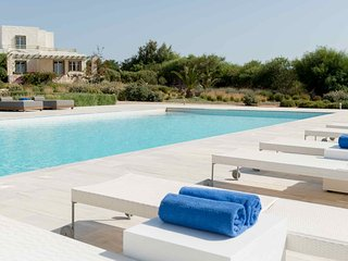 Blue Villas |Thetis |Family Villa with shared pool - Ampelas vacation rentals