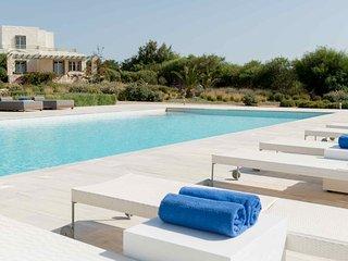 Blue Villas |Thetis |Family Villa with shared pool - Ampelas vacation rentals