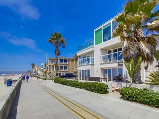**New Vacation Rental Property** Second Floor Ocean Front Condo - San Diego vacation rentals