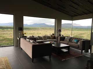 Modern Luxury Villa with an Amazing Panorama View - Reykholt vacation rentals