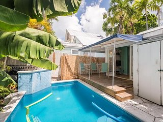Poolside Retreat- Cute Home w/ Parking a Half Block from Duval w/ Shared Pool - Key West vacation rentals